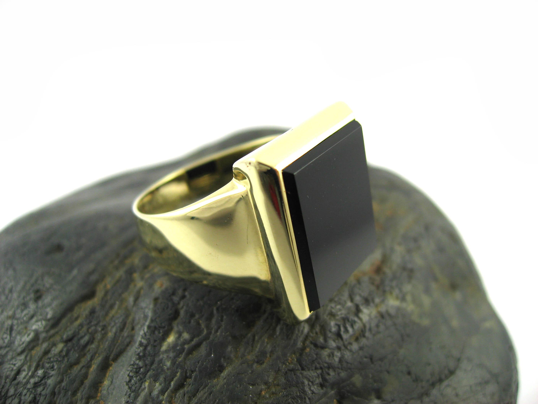 einzigartig herren goldring onyx schmuck website. Black Bedroom Furniture Sets. Home Design Ideas